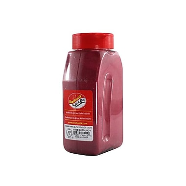 Sandtastik® Classic Coloured Sand, 28 oz (795 g) Bottle, Burgundy, 8/Pack