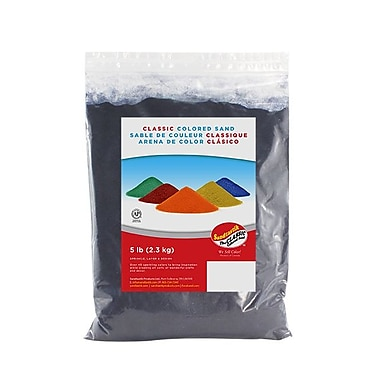 Sandtastik® Classic Coloured Sand, 5 lb (2.3 kg) Bag, Navy Blue