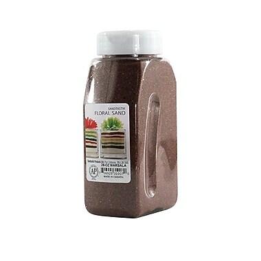 Sandtastik® Floral Coloured Sand, 28 oz (795 g) Bottle, Marsala