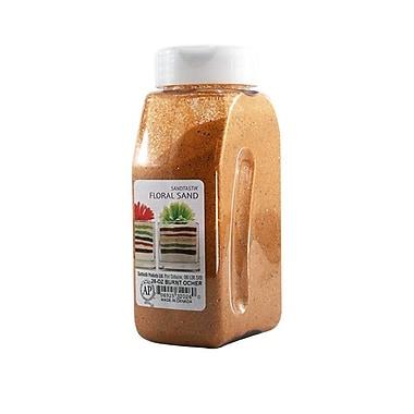 Sandtastik® Floral Coloured Sand, 28 oz (795 g) Bottle, Burnt Ocher
