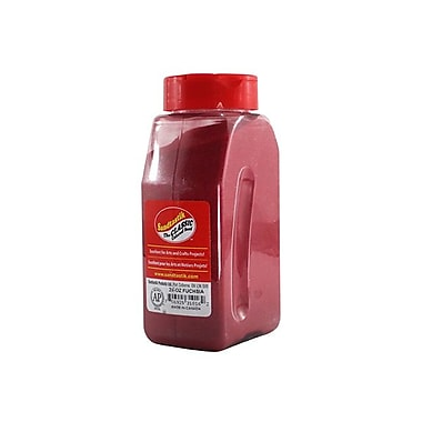 Sandtastik® Classic Coloured Sand, 28 oz (795 g) Bottle, Fuschia, 8/Pack