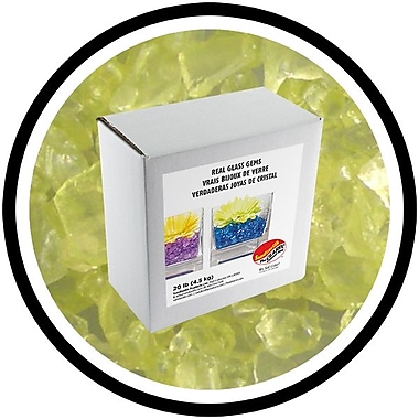 Sandtastik® Coloured ICE Gems, 20 lb, Light Yellow