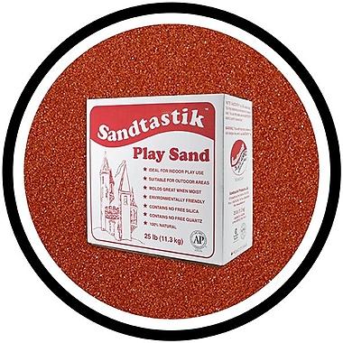Sandtastik® Classic Coloured Sand, 25 lb (11.3 kg) Box, Marsala