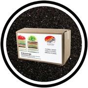 Sandtastik® Floral Coloured Sand, 10 lb (4.5 kg) Box, Black