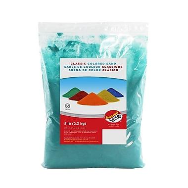 Sandtastik® Classic Coloured Sand, 5 lb (2.3 kg) Bag, Green