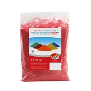 Sandtastik® Classic Coloured Sand, 5 lb (2.3 kg) Bag, Red