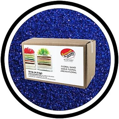 Sandtastik® Floral Coloured Sand, 10 lb (4.5 kg) Box, Baja Blue
