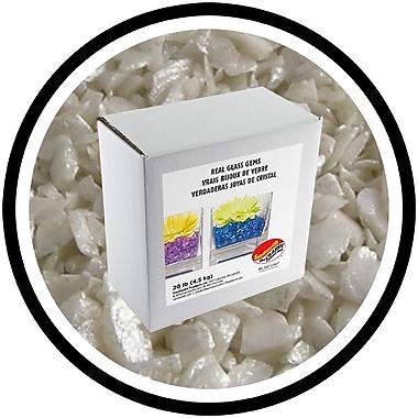 Sandtastik® Coloured ICE Gems, 20 lb, Opal Pearl
