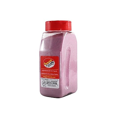 Sandtastik® Classic Coloured Sand, 28 oz (795 g) Bottle, Lavender