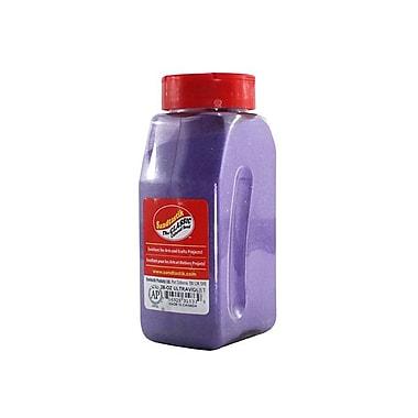 Sandtastik - Sable coloré classique, bouteille de 28 oz (795 g), ultraviolet, 8/paquet