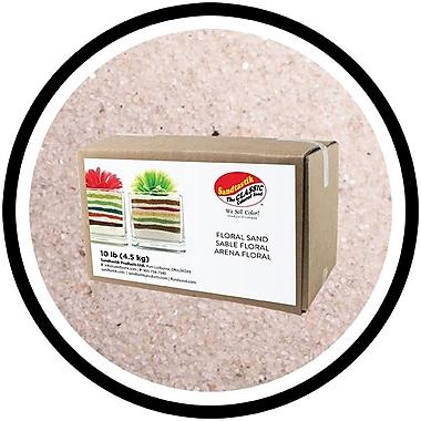 SandtastikMD - Sable coloré floral, boîte de 10 lb (4,5 kg), naturel