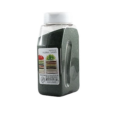 Sandtastik® Floral Coloured Sand, 28 oz (795 g) Bottle, Avocado