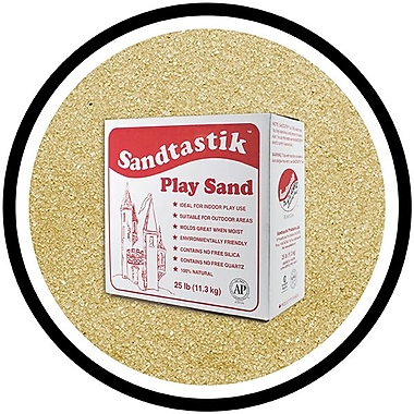 Sandtastik® Classic Coloured Sand, 25 lb (11.3 kg) Box, Latte