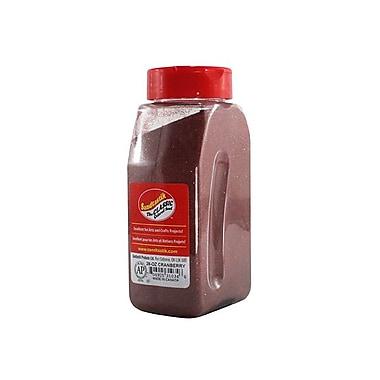 Sandtastik® Classic Coloured Sand, 28 oz (795 g) Bottle, Cranberry, 8/Pack