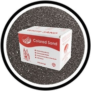 SandtastikMD – Sable coloré classique, boîte de 10 lb (4,5 kg), noir