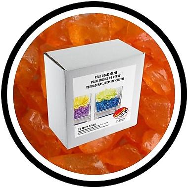 Sandtastik® Coloured ICE Gems, 20 lb, Orange