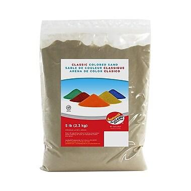 Sandtastik® Classic Coloured Sand, 5 lb (2.3 kg) Bag, Latte