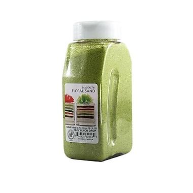 Sandtastik® Floral Coloured Sand, 28 oz (795 g) Bottle, Lemon Drop