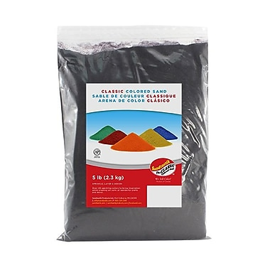 Sandtastik® Classic Coloured Sand, 5 lb (2.3 kg) Bag, Eggplant