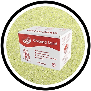 Sandtastik® Classic Coloured Sand, 10 lb (4.5 kg) Box, Sage