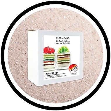 Sandtastik® Floral Coloured Sand, 25 lb (11.3 kg) Box, Natural