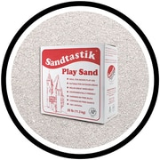 Sandtastik® Classic Coloured Sand, 25 lb (11.3 kg) Box