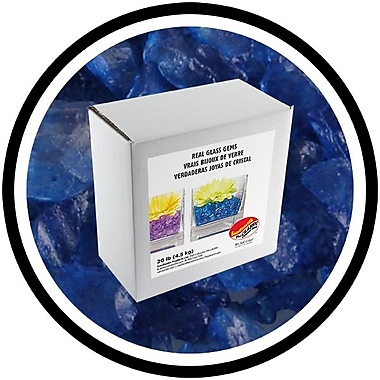 Sandtastik® Coloured ICE Gems, 20 lb, Blue