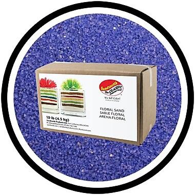 Sandtastik® Floral Coloured Sand, 10 lb (4.5 kg) Box, Blue Danube