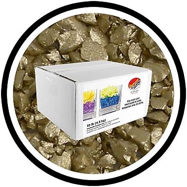 Sandtastik® Coloured ICE Gems, 10 lb, Opal Gold