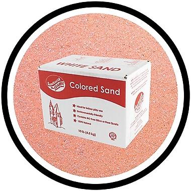Sandtastik® Classic Coloured Sand, 10 lb (4.5 kg) Box, Rose