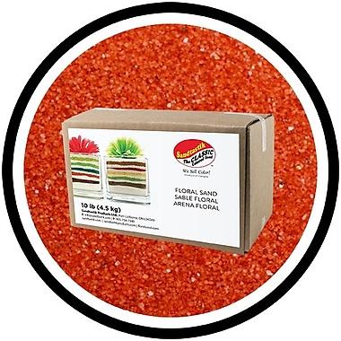 Sandtastik® Floral Coloured Sand, 10 lb (4.5 kg) Box, Spiced Cider
