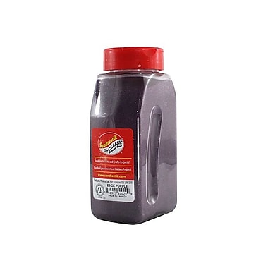 Sandtastik® Classic Coloured Sand, 28 oz (795 g) Bottle, Purple, 8/Pack
