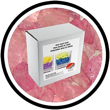 Sandtastik® Coloured ICE Gems, 20 lb, Plum