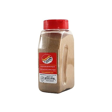 Sandtastik® Classic Coloured Sand, 28 oz (795 g) Bottle, Tan