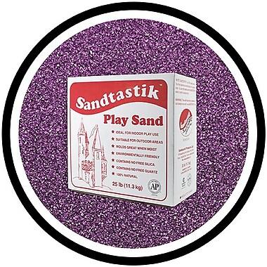 Sandtastik® Classic Coloured Sand, 25 lb (11.3 kg) Box, Purple