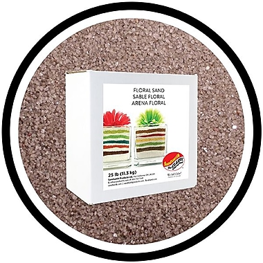 Sandtastik® Floral Coloured Sand, 25 lb (11.3 kg) Box, Dark Silver
