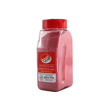 Sandtastik® Classic Coloured Sand, 28 oz (795 g) Bottle, Rose