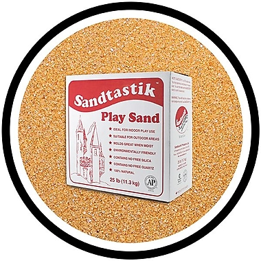 Sandtastik® Classic Coloured Sand, 25 lb (11.3 kg) Box, Cocoa