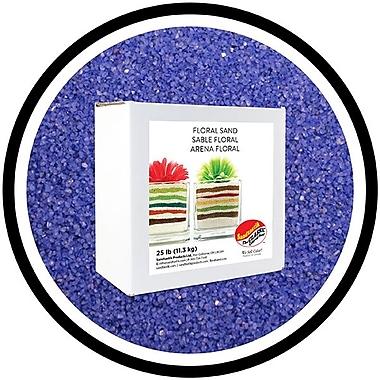 Sandtastik® Floral Coloured Sand, 25 lb (11.3 kg) Box, Blue Danube