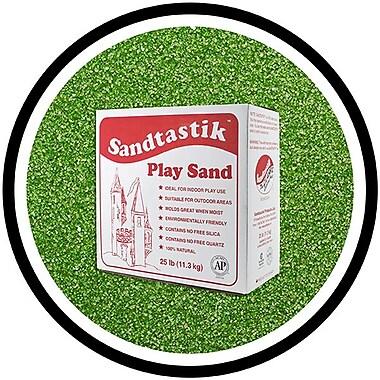 Sandtastik® Classic Coloured Sand, 25 lb (11.3 kg) Box, Evergreen