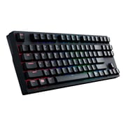 Cooler Master Mechanical RGB Keyboard with Cherry MX Switches, Red