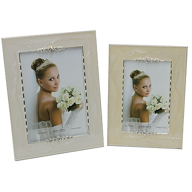 Cathay Importers Bedazzled Photo Frame, 2/Pack
