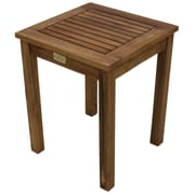 Cathay Importers Acacia Wood Side Table, Brown