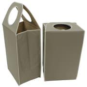 Cathay Importers Laundry Hamper, Khaki, 2/Pack