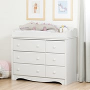 South Shore Angel Changing Table/Dresser with 6 Drawers