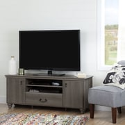South Shore Noble TV Stand for TVs up to 65'', Grey Maple