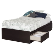 "South Shore Twin Mates Bed (39"") with 3 Drawers"