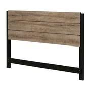 South Shore Munich Full/Queen Headboard (54/60''), Weathered Oak