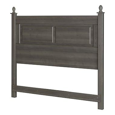 South Shore – Tête de lit pour lit deux places/grand lit (54/60 po), collection Noble, érable gris