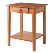 Winsome Studio Beech Wood End/Printer Table, Honey